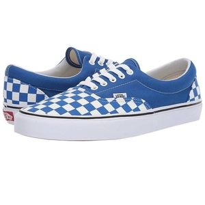 Vans | NWT Blue Era Checkerboard Lace Up Shoes